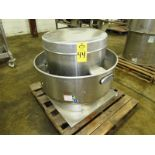 """Dayton Mdl. 4HZ576 Stainless Steel Rooftop Exhaust, 36"""" Dia. X 30"""" base, Ser. #14494684"""