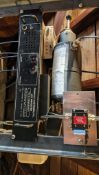 DESCRIPTION REGENCY LAND MOBILE UHF REPEATER WITH SHARED REPEATER TONE PANEL LOCATION HOUSE #2 QUANT