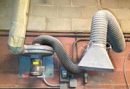 DESCRIPTION FUME Master 1.5 HP Ventilation Dust Collection Blower Fan BRAND/MODEL CINCINNATI ADDITIO