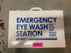 DESCRIPTION (2) EMERGENCY EYE WASH STATION LOCATION BASEMENT: TOOL ROOM THIS LOT IS SOLD BY THE PIEC