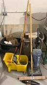 DESCRIPTION ASSORTED CLEANING SUPPLIES AS SHOWN LOCATION BASEMENT THIS LOT IS ONE MONEY QUANTITY 1
