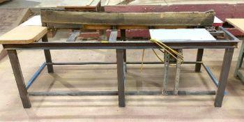 DESCRIPTION: WALKER TURNER KEB58 TABLETOP EDGE/ BELT SANDER BRAND/MODEL: WALKER-TURNER KEB58 ADDITIO