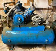 DESCRIPTION: DOERR 15 HP COMPRESSOR BRAND/MODEL: DOERR LH-13758 ADDITIONAL INFORMATION: 1750 RPM | 6