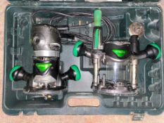 """DESCRIPTION: 1/2"""" VARIABLE SPEED FIXED BASE ROUTER KIT BRAND/MODEL: HITACHI M12VC ADDITIONAL INFORMA"""