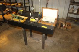 2'X3' SURFACE PLATE ON STAND