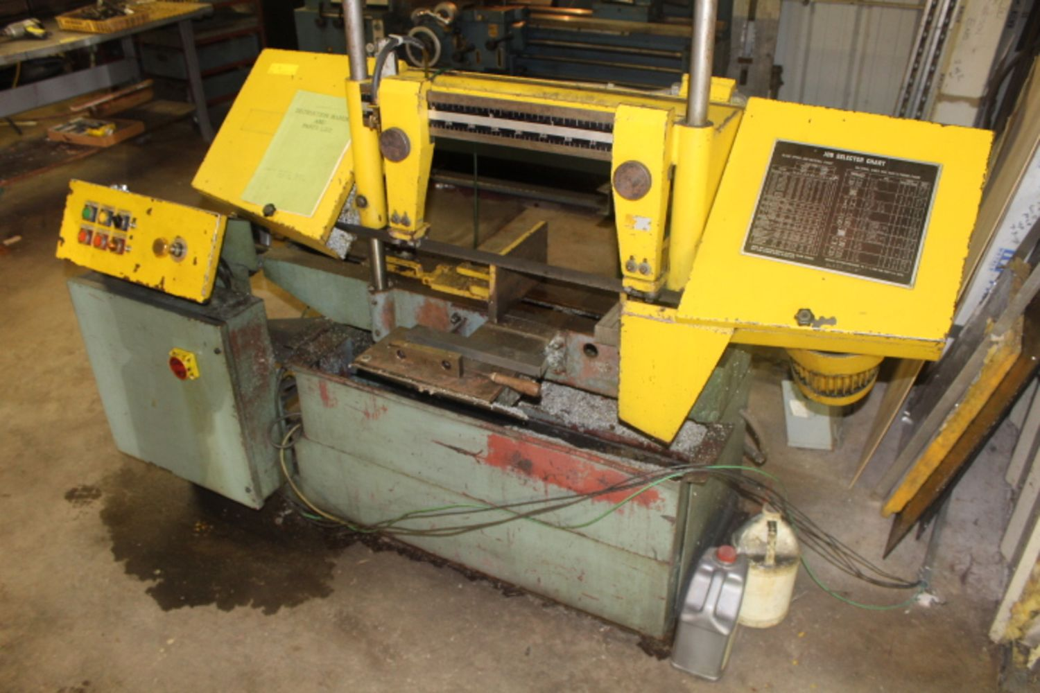 Garrison Estate Auction - Commercial Machining Tools