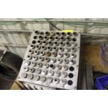 5C COLLET STAND WITH COLLETS
