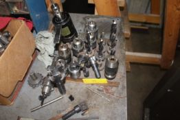 FLAT OF CHUCKS AND CUTTERS