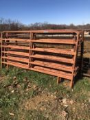 4- 12' AND 1- 10' CATTLE PANEL