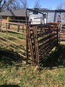 COMPLETE 6 - 10' PANELS & 1 - 10' PANEL W 4' WALK GATE