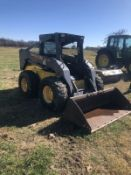 NEW HOLLAND LS190 SKIDSTEER W/ SUPER BOOM