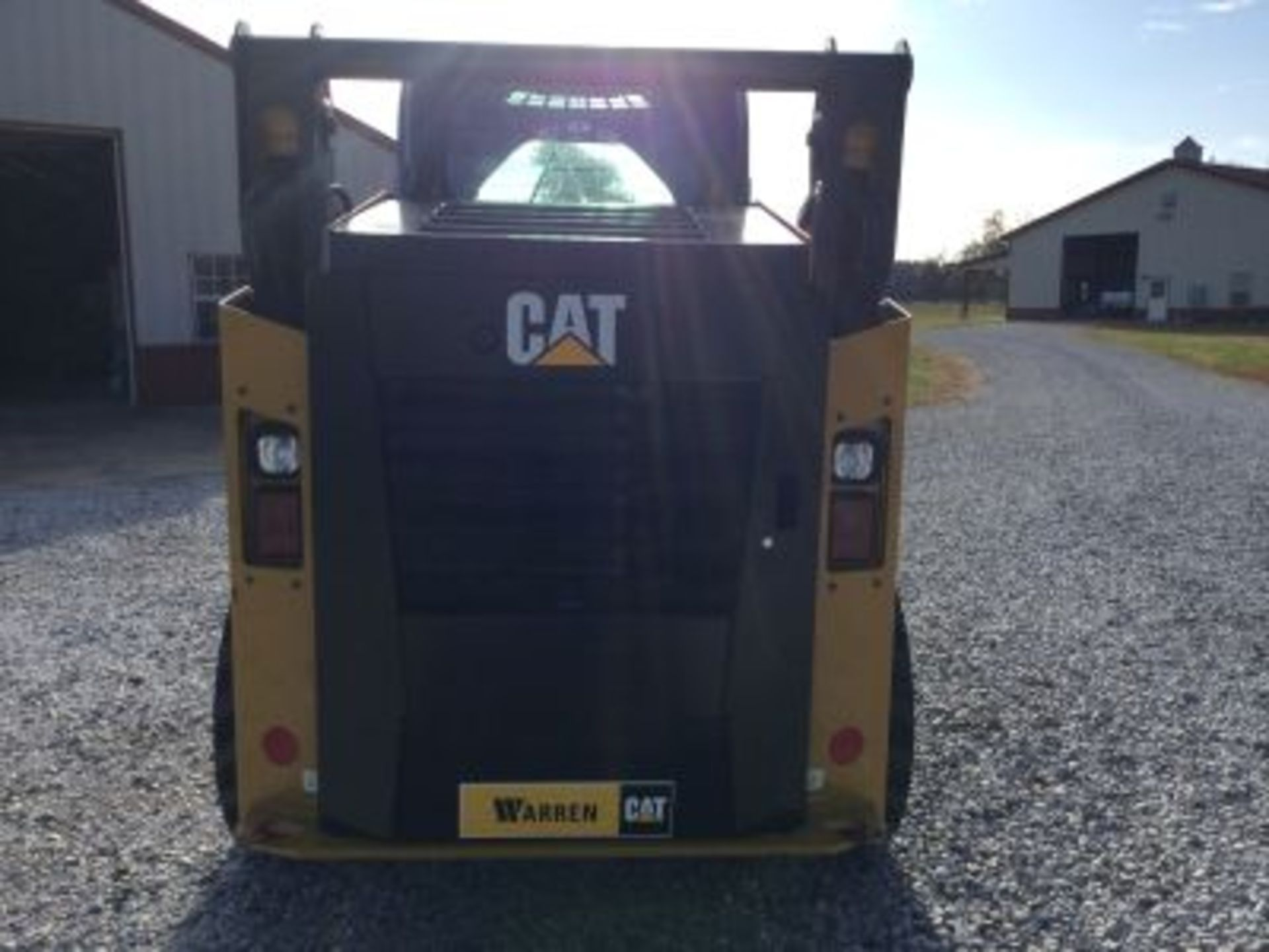 2018 CATERPILLAR 242D SKIDSTEER LOOKS NEW - Image 6 of 12