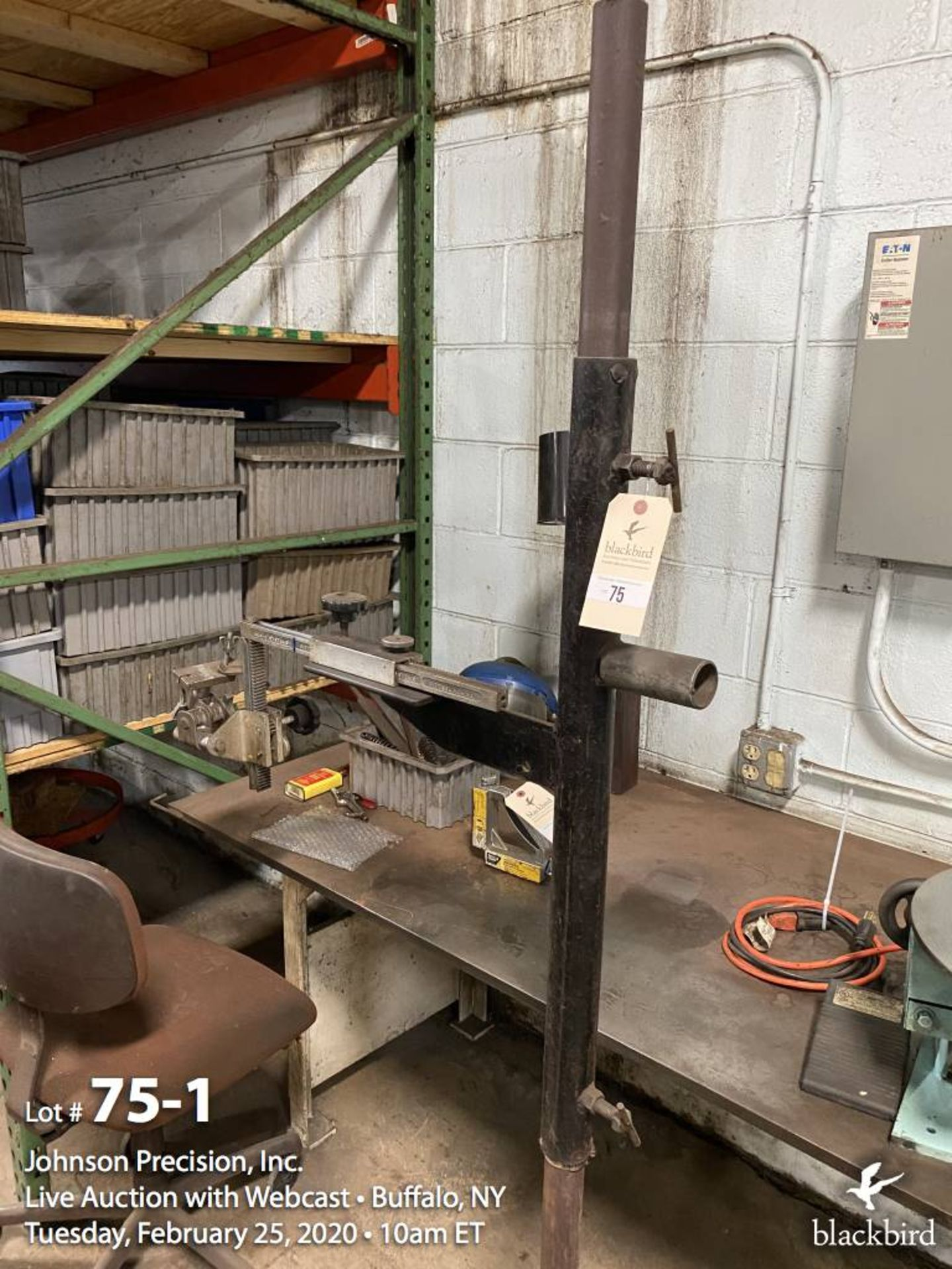 Lot 75 - Bug-O Systems welding gun positioner and holder