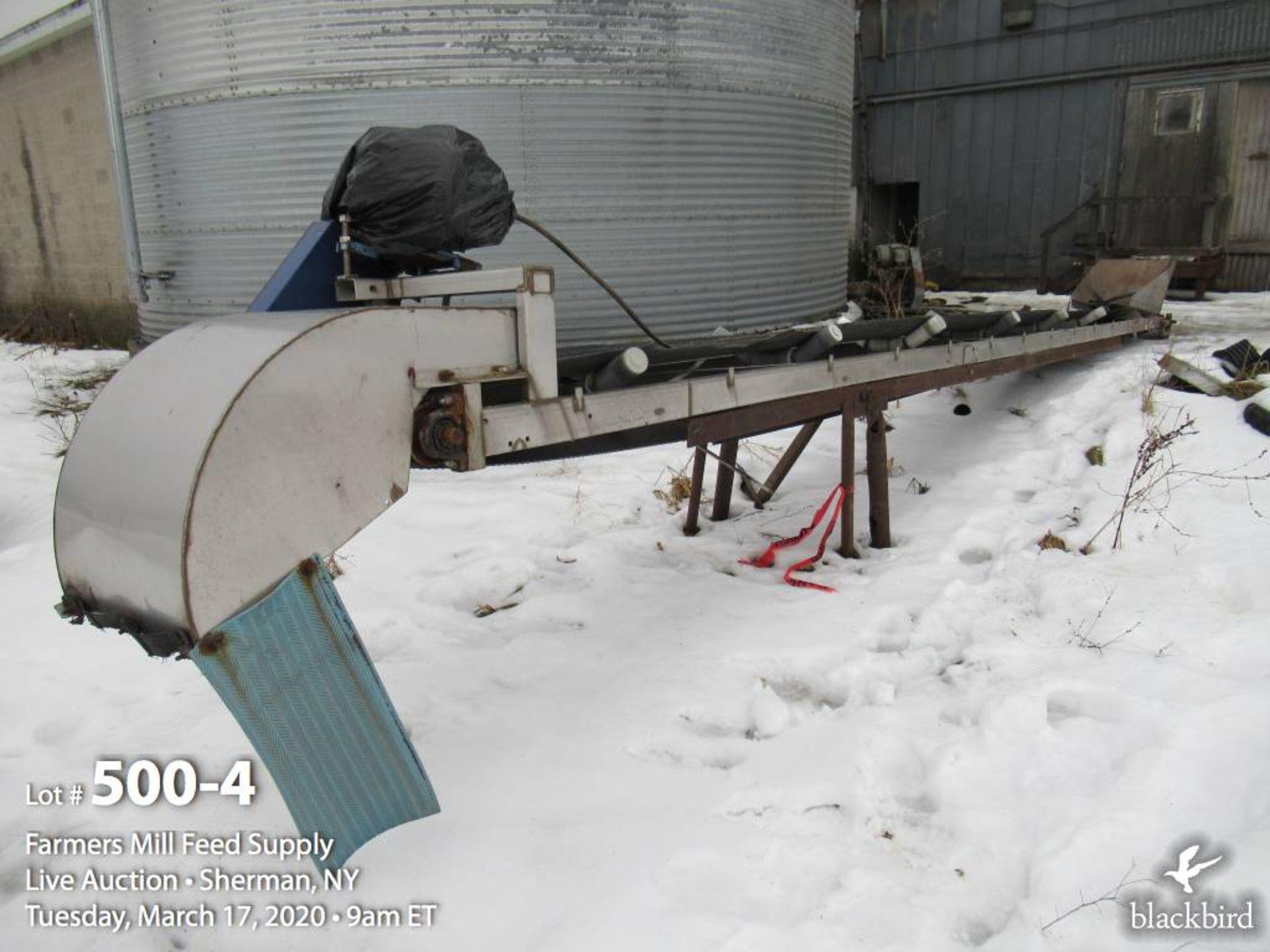 Lot 500 - WACONIA stainless steel 6-ton rotary drum fertilizer blender