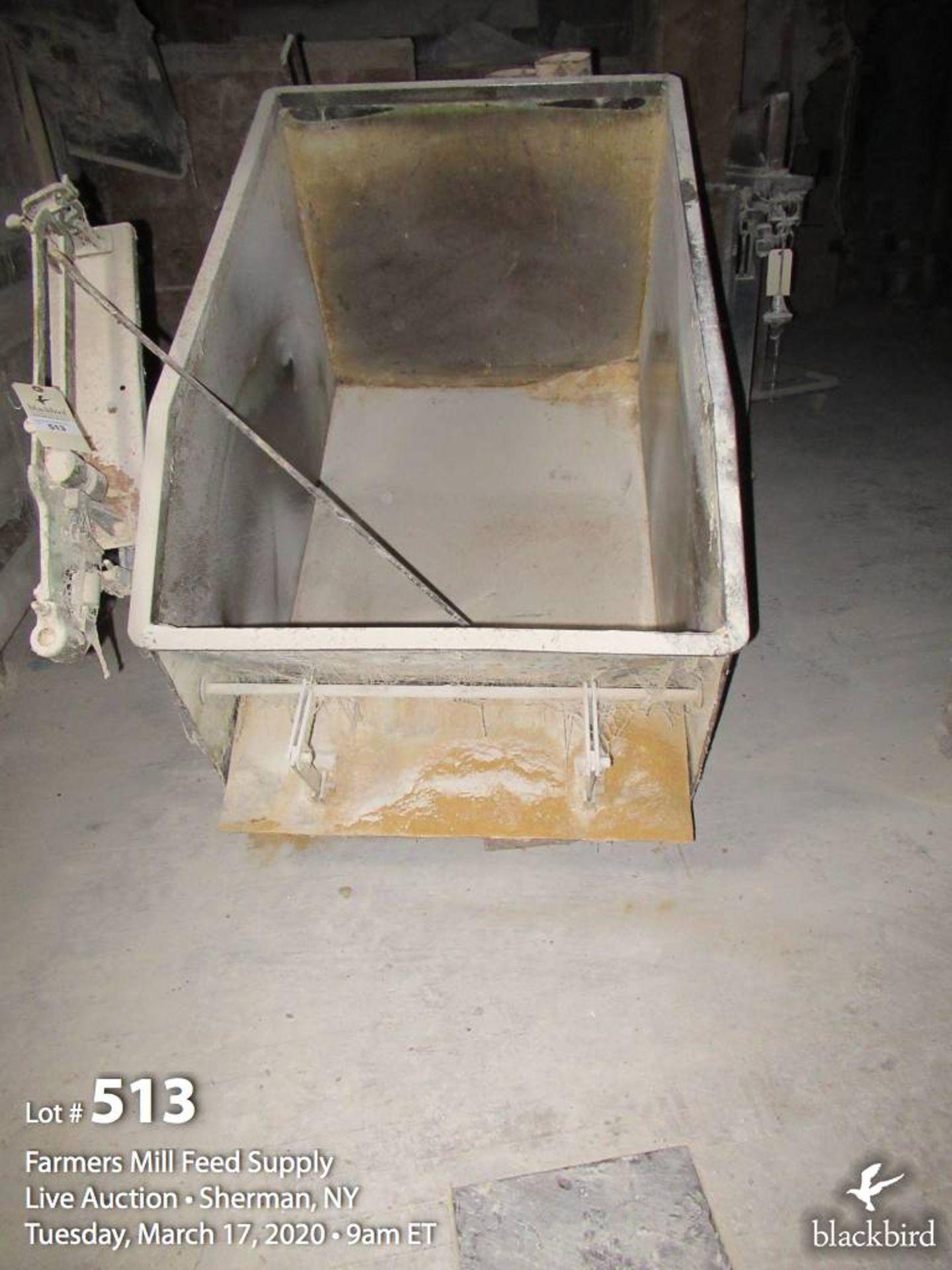 Lot 513 - Scale dump hopper 1000 LB.Cap.