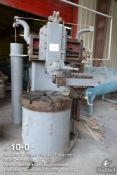 Bullard manual 30 inch vertical turret lathe, 5 position vertical turret, side head attachment