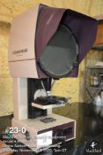 "14"" optical comparator, Scherr Tumico (ST) model 20-4400, benchtop"