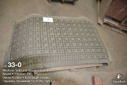 (Lot): (8) rubber floor mats, 5 ft x 31 inches