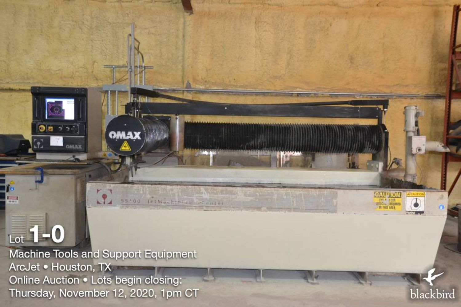 Machine Tools, Waterjet and support equipment - ARCJET CUTTING AND DESIGN - Houston, TX