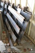 (Lot): (8) flat bed truck metal side boards 47 inches wide by 41 inches tall