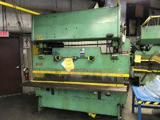 100 Ton Chicago Press Brake Model #IB65-6-8