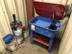 Parts Washer with Cleaning Jugs
