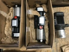 Lot of (3) *NEW* Grundfos Pumps