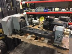 Peiseler AWU 160 NC Rotary Table w/ Tailstock GRT 160