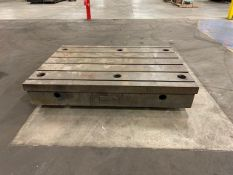 "78"" x 58"" T-Slotted Table"