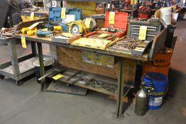 "Metal Work Bench, 36"" x 72"""