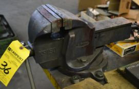 """Eron 150 6"""" Swivel Bench Vise with Bench"""