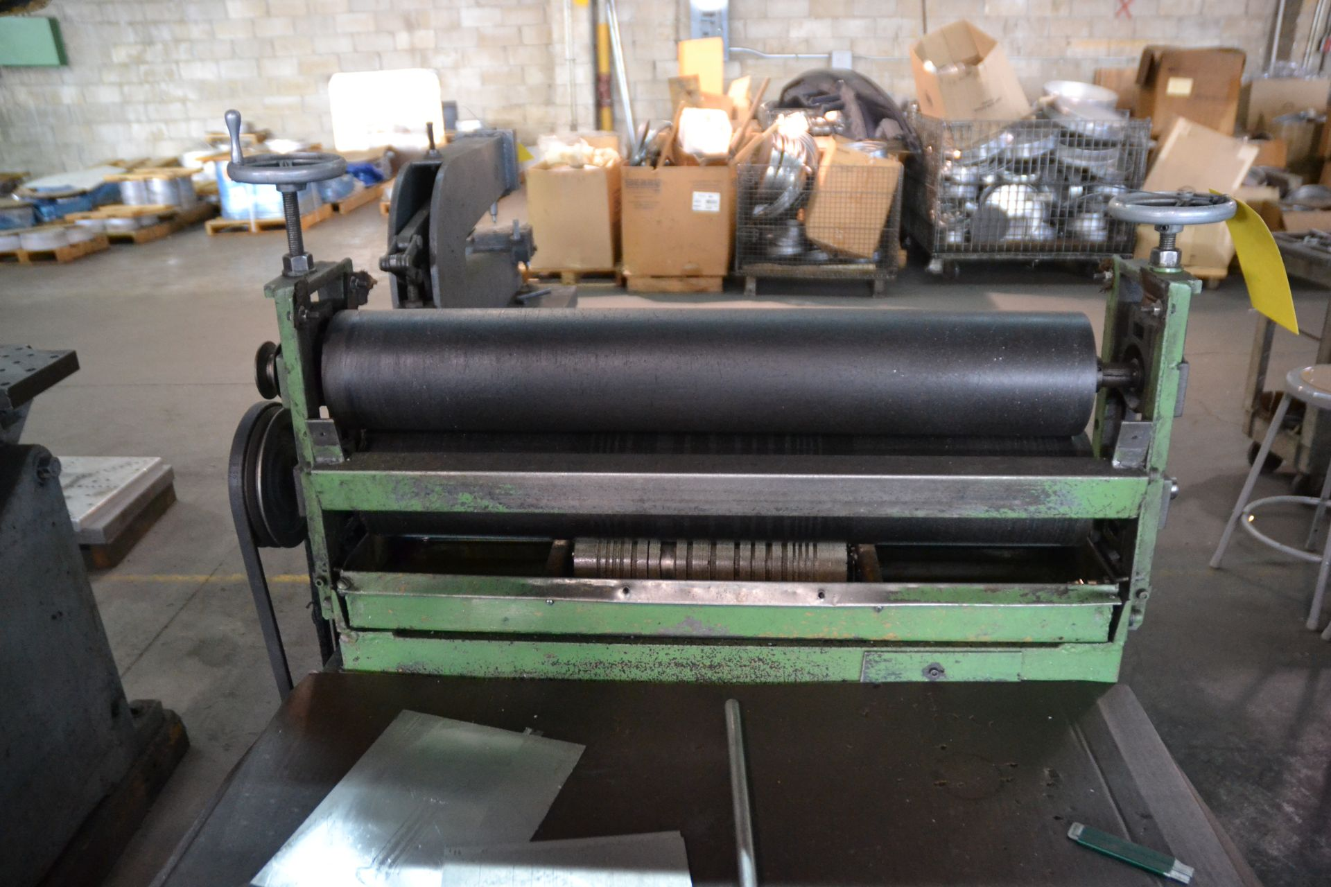 Lot 135 - Glue Roller Press