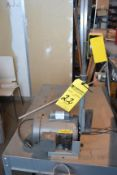 "Baldor 1"" Table Top Belt Sander with Dust Collector"