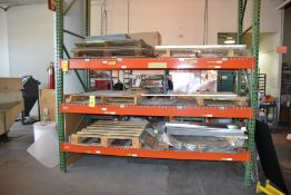 Section of Heavy Duty Pallet Racking
