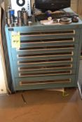 Vidmar 8-Drawer Tool Cabinet with Punch & Die Sets
