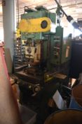 USI Cleaning Power 32PG40 32-Ton Punch Press, s/n 57-4406