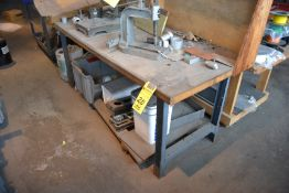"Metal Work Bench, 30"" x 72"""