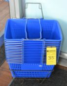 LOT - Shopping Baskets and Kiddy Cars