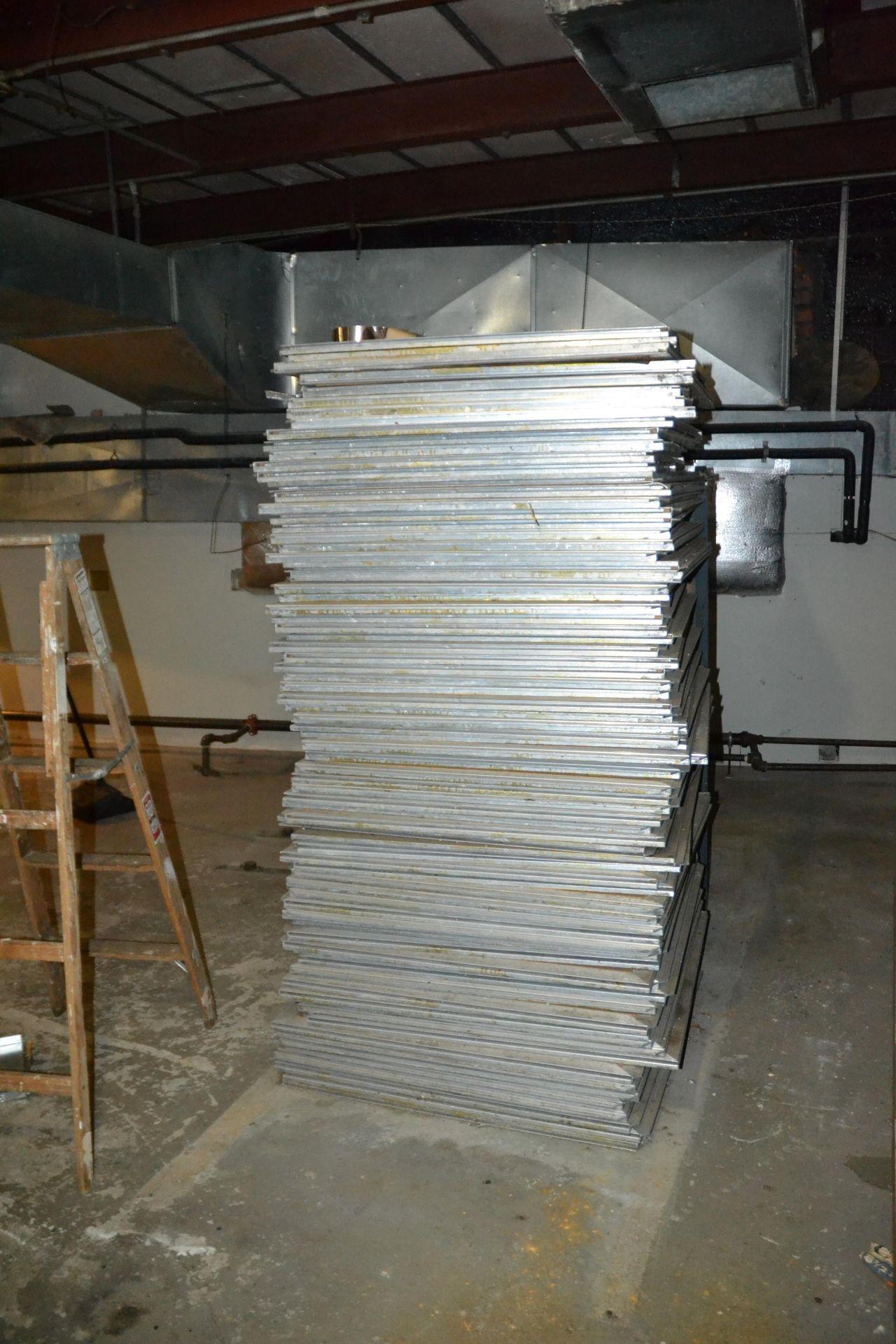 Lot 436 - LOT - Parquet Floor