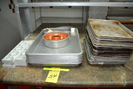 LOT - Assorted Trays & Accessories