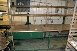 Stainless Steel & Metal Tables