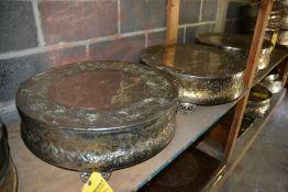 "Decorative 22"" Circular Cake Risers"
