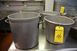 Assorted Stock Pots & Collanders