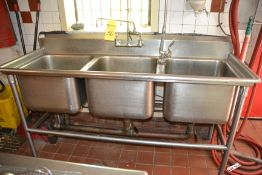 3-Compartment Sink