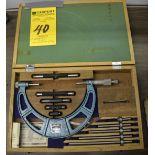"Draper 0-6"" Micrometer w/ Rods"