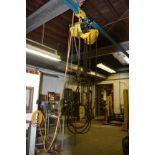 Yale 1-Ton Electric Hoist w/ Trolley