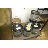 5 Gallon Drums of Oil
