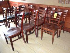(24) Wood Chairs