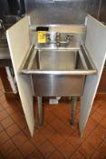 KCS 1-Compartment Deep Sink