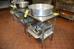 """Stainless Steel Prep Table, 24"""" x 30"""""""